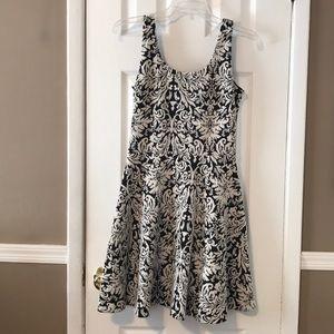 Bar 111 black and white dress